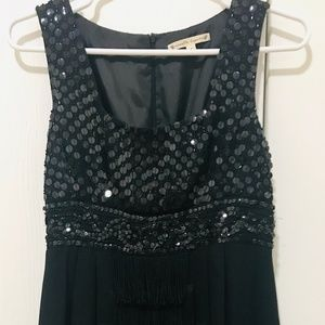 Nanette Lepore  1920s-inspired Black Sequin Dress